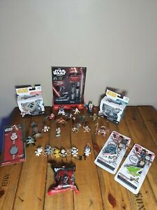 Star Wars Toy Lot LFL, Micro Force And Galactic Heroes.