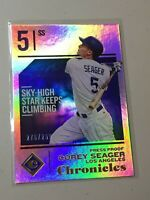 F42102  2018 Panini Chronicles Press Proof #36 Corey Seager /299 Dodgers