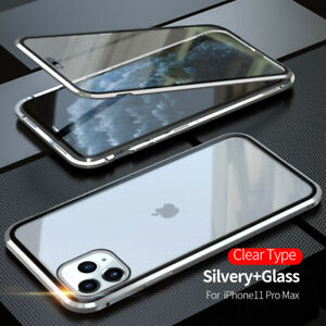 Magnetic Tempered Glass Case For iPhone 13 12 11 Pro MAX XR X 8 7 360 Full Cover