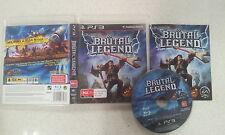 Brutal Legend Sony Playstation 3 PS3