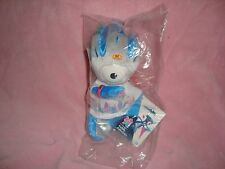 "2012 London Olympic Games Paralympic Mascot Mandeville 6"" Plush & Beans NIP"