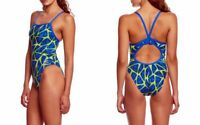 Speedo Swimsuit Caged Out Flyback Women's One-Piece Athletic - Speedo Endurance+