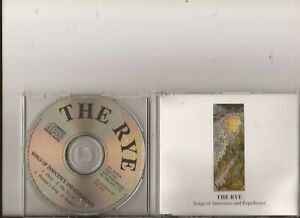 The Rye - Songs of Innocence and Expedience ( 4 Track  CD )