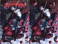 Despicable Deadpool 300 In-Hyuk Lee Golden Apple Comics Variant Virgin Set 2