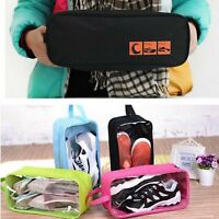 Hot Outdoor Travel Shoes Storage Tote Pouch Zip Waterproof Bag Organizer Pouch