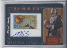 2010-11 Michael Beasley Panini Century Collection Auto Souvenir Stamps 1/5