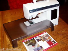 Husqvarna Viking Designer Series Quilters Extension Table & Guide Sew Quilt NEW