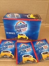 Jamaica Blue Mountain Peak Instant Coffee with 24 One Cup Sachets  (best seller)
