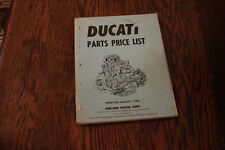 Ducati Parts Price List 1978 berliner bevel squarecase roundcase 900 750 darmah