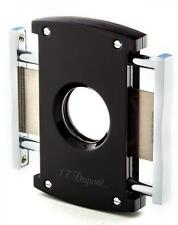 S.T. Dupont MaxiJet Cigar Cutter, Black Lacquer & Chrome, # 3265, New In Box