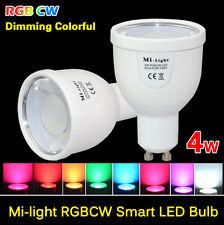 MiLight RGB E27 GU10 Dimmable Smart Led Bulb 4/6/9W Light  2.5G Lamp AC85-265V