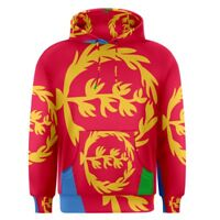 Eritrea Eritrean Flag Sublimation Men's Pullover Hoodie Size S-3XL Free Shipping