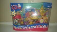 Littlest Pet Shop Raceabout Ranch 337 338 339 horse pony orange cat New NIB LPS