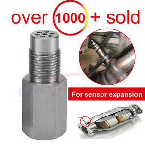 Oxygen O2 Sensor Spacer Adapter Bung Catalytic Converter Fix Check Engine Light