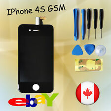 REPLACEMENT FOR IPHONE 4S BLACK LCD TOUCH SCREEN DIGITIZER DISPLAY ASSEMBLY