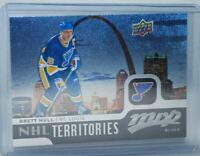 2015-16 Upper Deck MVP #211 NHL Territory Brett Hull St. Louis Blues