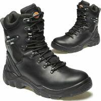 PSF TaskForce S3 Waterproof Police Zip Work Steel Toe Safety Boots Security 3-12