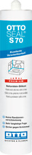 OTTO CHEMIE S70 Premium Naturstein Silikon 310ml Kartusche Farbe Edelstahl C197