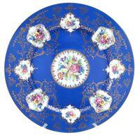 Antique Royal Bayreuth Bavaria Germany Transferware Floral Dinner Plate H694