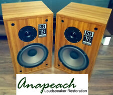Goodmans RB18 - Classic British Loudspeakers - Fully Rebuilt and sounding great