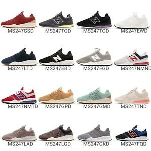 New Balance MS247 D 247 Mens Running Shoes Sneakers Sport Style Pick 1