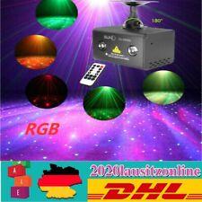 RGB LED Laser Projektor Bühnenlampe Bühnenlicht Stage Disco DJ Licht-Effekt SALE