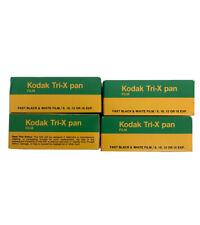 Kodak Tri-X Pan 400,Four (4) Pack of TX 120 Black  White Negative Film