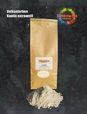Vulkanfarben Kaolin extraweiß, Chinaclay, weißes Tonmehl