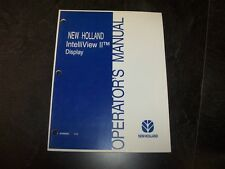 New Holland IntelliSteer Auto Steering System Version 2.6 Owner Operator Manual