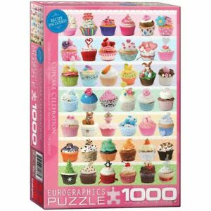 Eurographics Puzzles 1000 Piece Jigsaw Puzzle - Cupcakes Occasions EG60000586