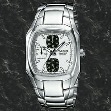 Casio EF315D-7AV Men's Edifice Stainless Steel White Dial Multi-function Watch