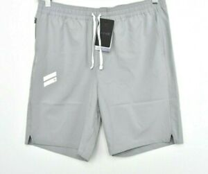 NEW Hurley Men's Exist Collection Lightweight Sport Shorts Quarry Gray Sz M $55