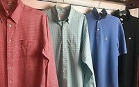 ALot of 4 Brooks Brothers Mens Size Large Button Up & Original Polo Shirt Golf