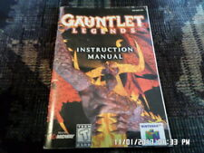 Gauntlet Legends (N-64 Nintendo 64) Instruction Manual Only... NO GAME