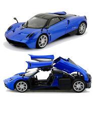 Motor Max 1/18 Scale Pagani Huayra Blue Diecast Car Model 79160