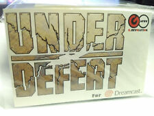 Under Defeat Dreamcast Decal Sticker (2006) Brand New Factory Sealed Import