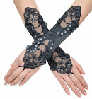 Cheap Black / Light Purple Wedding Gloves for Bride Formal Evening Party Glove