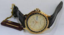 Reloj de Cuarzo rara VINTAGE CITIZEN AD6082-01PZ nuevo viejo stock nos-movimiento de Japón