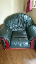 Leather DFS Furniture Suites with Footstool
