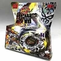 VARIARES BEYBLADE 4D TOP METAL FUSION FIGHT MASTER NEW + LAUNCHER USA