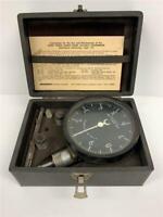 MOTROLA JONES 1HT Portable Motor Tachometer Gage Meter 1000 - 100,000 RPM USA