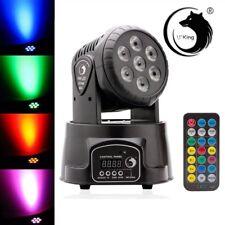 RGBW 70W 7LED Moving Head Stage Lighting DMX512 DJ Party Club Lighting US Plug
