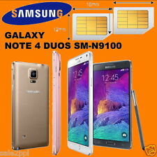 Samsung Galaxy Note 4 Duos SM-N9100 16GB Dual SIM Standby 4G Android Smartphone