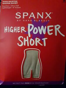 Spanx Power Series Shaping Short one piece Soft Nude panties Brief size 2X