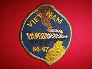 US 1097th TRANSPORTATION Company COMPOSITE WATERCRAFT 1966-67 Vietnam War Patch
