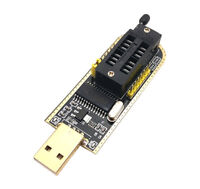 1PC CH341A USB motherboard routing LCD BIOS FLASH 24 25 burner