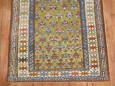 Antique Caucasian Shirvan Kazak Kuba Rug Size 3'3''x4'9''