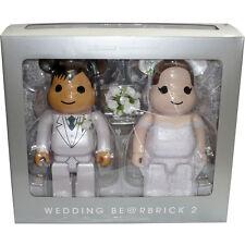 Medicom Be@rbrick Bearbrick Greeting Marriage 2 PLUS exclusive 400% Figure Set