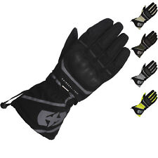 Oxford Montreal 1.0 Waterproof Motorcycle Motorbike Gloves - Stealth Black L Gm172105l