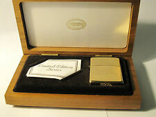 ZIPPO 14K SOLID GOLD LIGHTER, RARE VINTAGE ,LIMITED EDITION SERIES